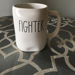 "Rae Dunn ""FIGHTER"" Mug"